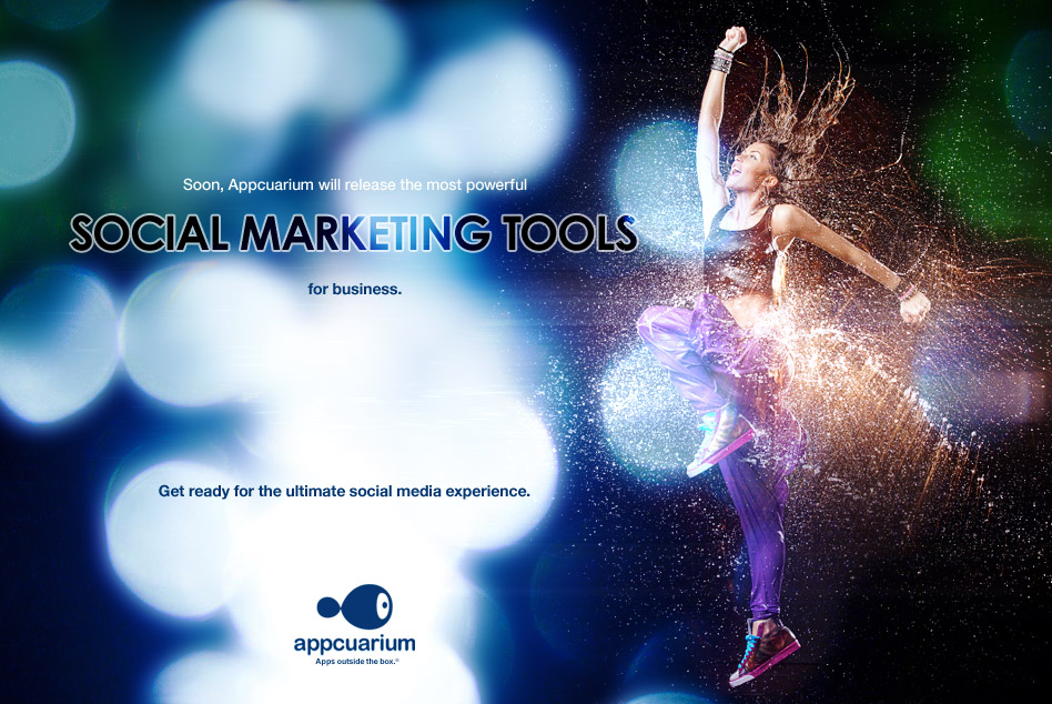 Soon, Appcuarium will release the most powerful social marketing tools for business. Get ready for the ultimate social media experience.